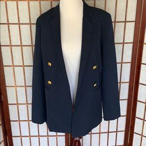 Blaque Label Navy Open Blazer